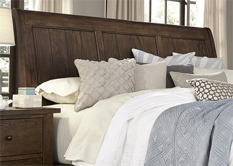 Liberty Furniture - Queen Sleigh Headboard - 382-BR21H