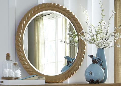 Liberty Furniture - Rope Mirror - 531-BR52
