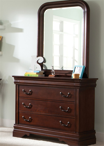 Image of Youth Dresser with Mirror