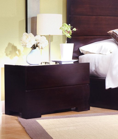 Image of Two Drawer Nightstand
