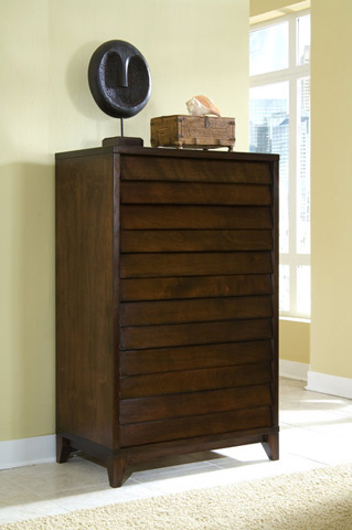 Image of Six Drawer High Chest
