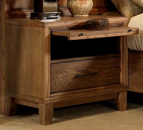 Ligna Furniture - One Drawer Nightstand - 7032
