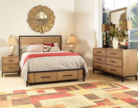 Image of Queen Storage Bed