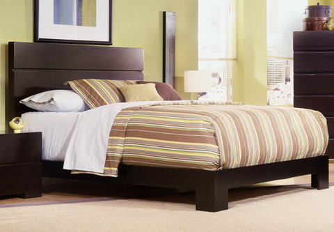Image of King Low Platform Bed
