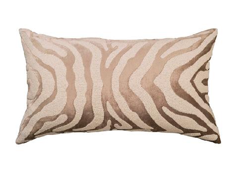 Lili Alessandra - Zebra Large Rectangle Pillow - L130DFW