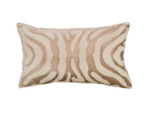 Lili Alessandra - Zebra Small Rectangle Pillow - L130FW