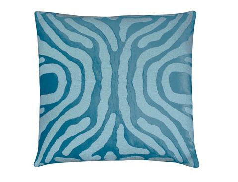 Lili Alessandra - Zebra European Pillow - L130LSF