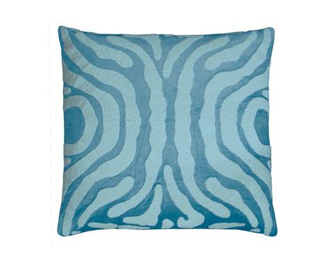 Lili Alessandra - Zebra Square Pillow - L130SSF
