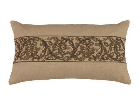 Lili Alessandra - Kasmir Small Rectangle Pillow - L1412RNA