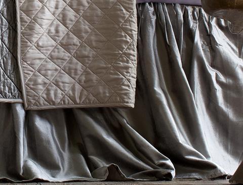 Image of Chloe Gathered Bed Skirt
