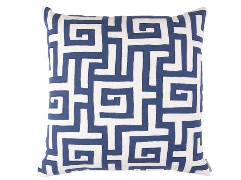 Lili Alessandra - Onasis Square Pillow - L218ASWM-L