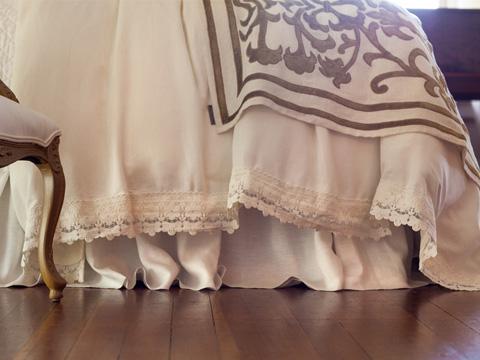 Lili Alessandra - Theresa Gathered Bed Skirt - L226SKGW