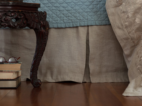 Image of Mozart Tailored Bed Skirt