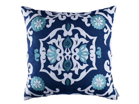 Lili Alessandra - Morocco Square Pillow - L282SMOW