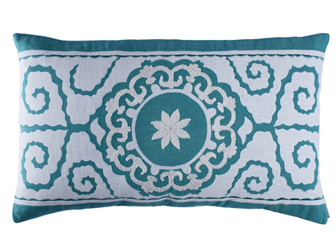 Lili Alessandra - Tangier Large Rectangle Pillow - L286DOW