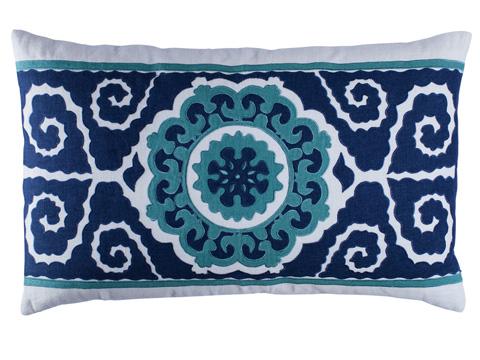 Lili Alessandra - Tangier Large Rectangle Pillow - L286DWOM