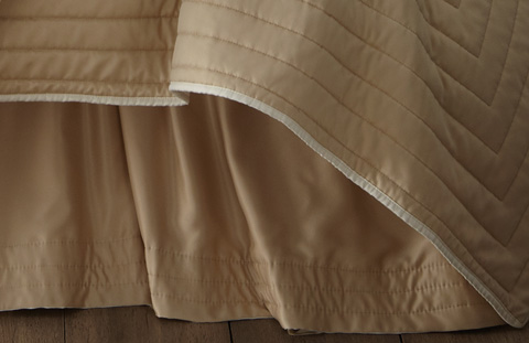 Image of S&S Reversible Gathered Bedskirt