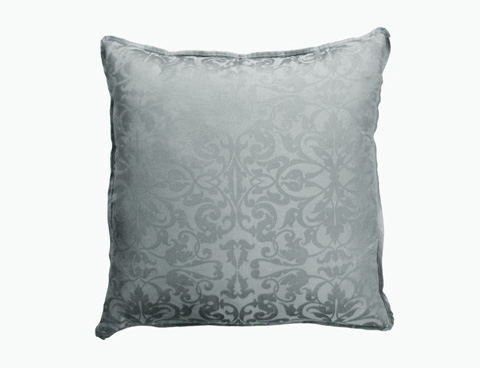Lili Alessandra - Jackie Blue-Silver Jacquard Bedding Package - JACKIESET