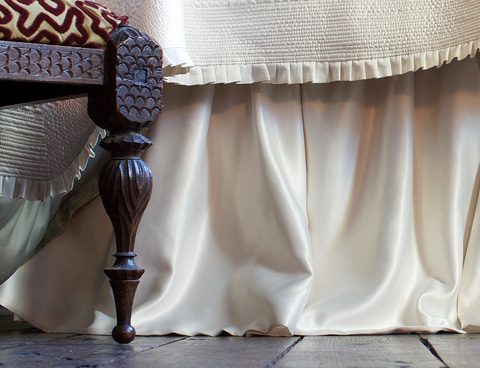 Image of Battersea Gathered Bedskirt