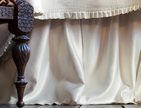 Image of Battersea Gathered Bed Skirt