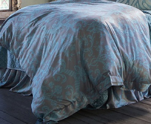 Image of Makie Taupe with Seafoam Duvet