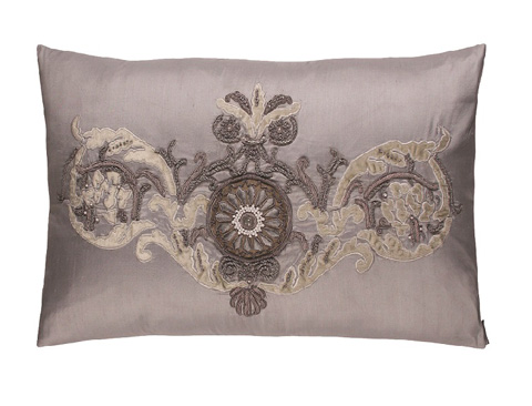 Lili Alessandra - Paris Medium Rectangle Pillow - LPAR17BL