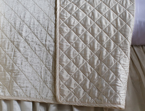 Image of Chloe Ivory Coverlet