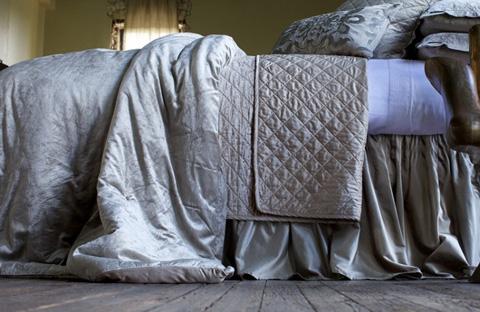 Image of Chloe Fawn Velvet Bedding Package