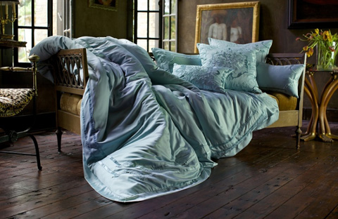 Image of Vendome Seafoam Bedding Package