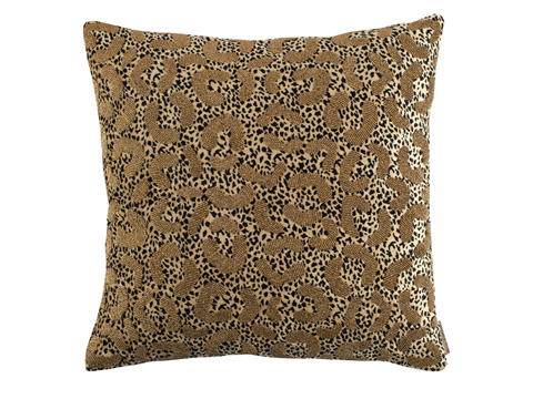 Image of Leopard Square Pillow
