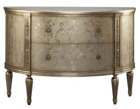 Lillian August Fine Furniture - Melrose Demilune - LA81563-01