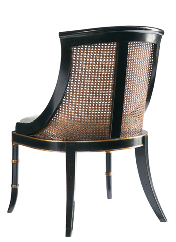 Lillian August Fine Furniture - Antoine Cane Back Dining Chair - LA91161-01