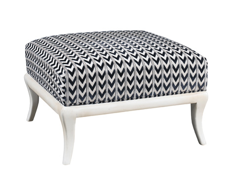 Lillian August Fine Furniture - Hagan Ottoman - LA4124OT