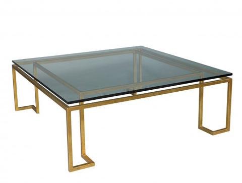 Lillian August Fine Furniture - Reid Glass Top Cocktail Table - LA14315