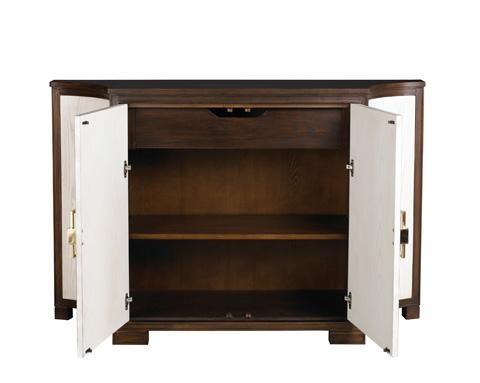 Lillian August Fine Furniture - Guy Clipped Corner Door Cabinet - LA98023