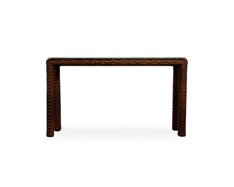 Lloyd Flanders - Contempo Console Table with Lay On Glass - 38049