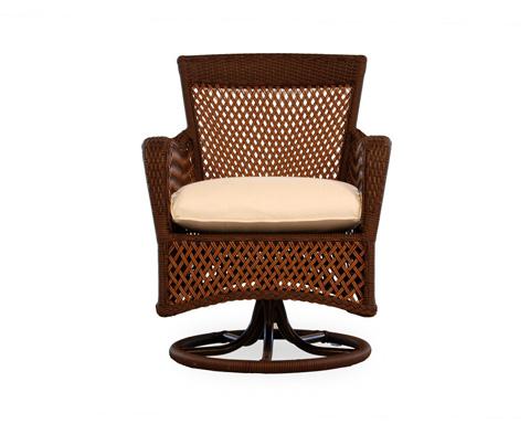 Lloyd Flanders - Grand Traverse Swivel Dining Chair - 71381