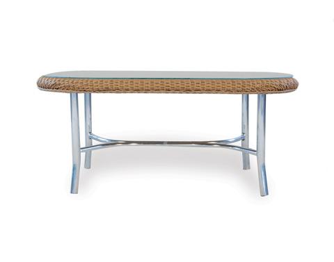 Lloyd Flanders - Oval Cocktail Table - 86247