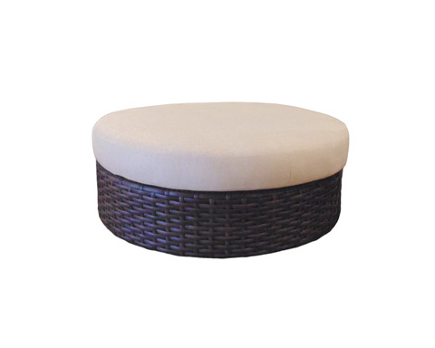 Image of Round Ottoman