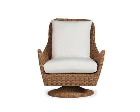 Image of High Back Swivel Lounge Chair