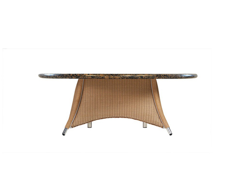Lloyd Flanders - Conversation Umbrella Table - 128441-03