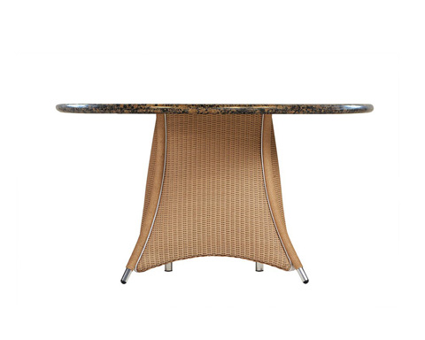 Image of Stone Top Umbrella Table