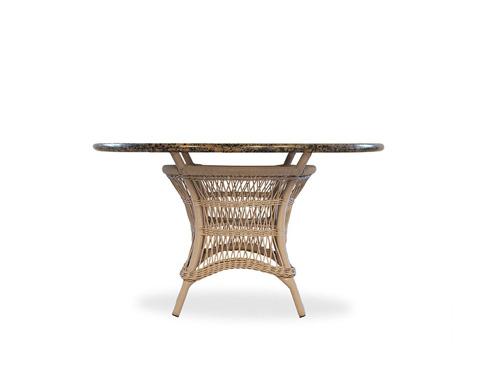 Image of Stone Top Umbrella Table