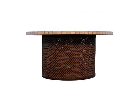 Lloyd Flanders - Round Fire Table - 71099-04