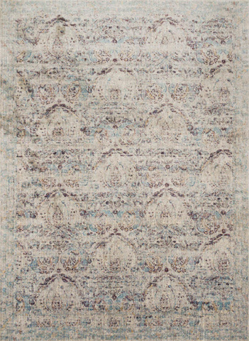 Image of Silver and Plum Rug