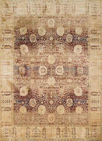 Image of Red and Gold Rug