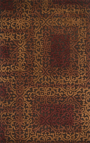 Image of Brown and Spice Rug