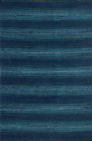 Image of Blue and Light Blue Rug