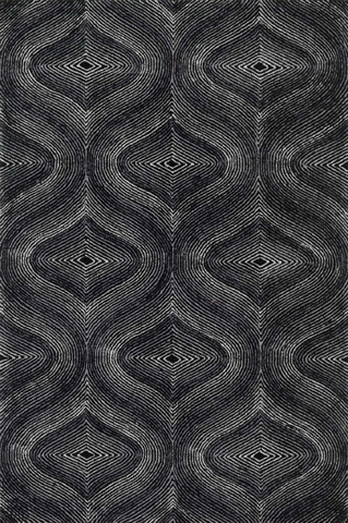 Image of Black and Grey Rug