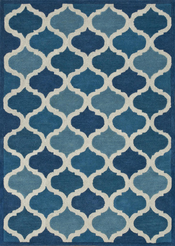Image of Cobalt Blue Rug